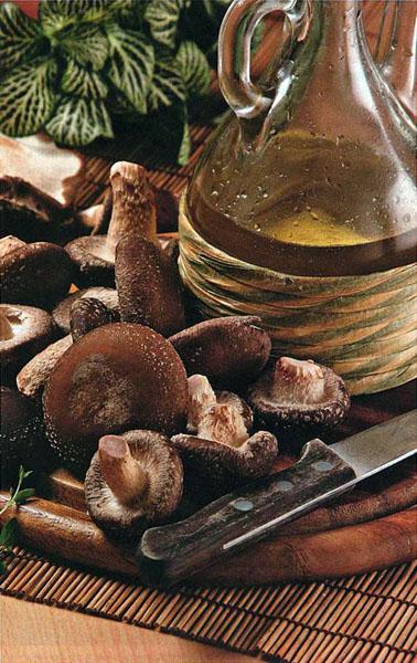 Ингредиенты шиитаке